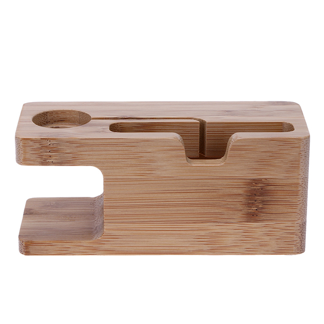 Wooden Desktop Phone Stand