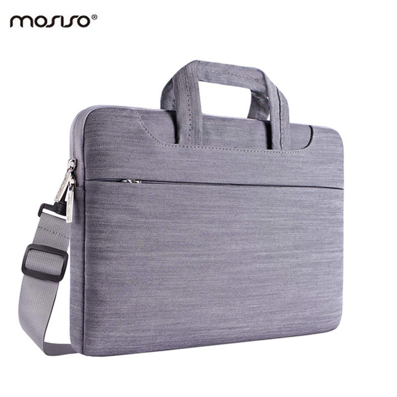 MOSISO Denim Notebook Shoulder Bag Case for Macbook Air/Pro Surface/Dell/Asus/HP