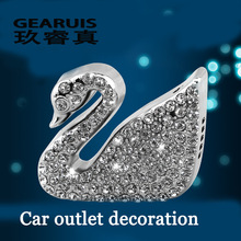 2pcs Swan car styling supplies incense car Vent Air Freshener outlet Perfume Diffuser Auto accessories P5 car styling