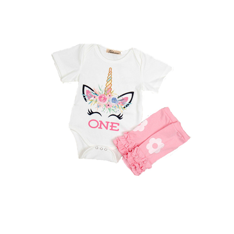 Pudcoco Unicorn Cute Newborn Kids Baby Girl Anime Cotton ...