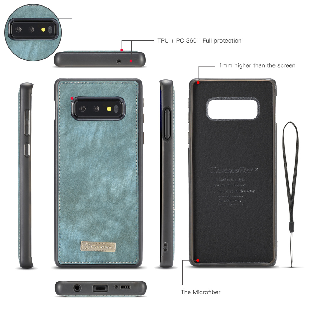 Vintage Leather Magnetic Samsung Galaxy s10 Plus Case