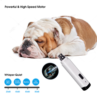 Electric Pet Nail Grinder Clippers 2 Speed Cat Paws Grooming Smoothing Trimmer USB Charging Trimmer Pet Nail Care Tool
