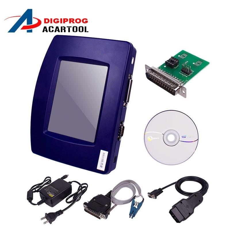 Цена за Новый Основной Блок из Digiprog III V4.94 Digiprog 3 с OBD2 ST01 ST04 кабеля Digiprog3 коррекция одометра инструмент на складе DHL БЕСПЛАТНО