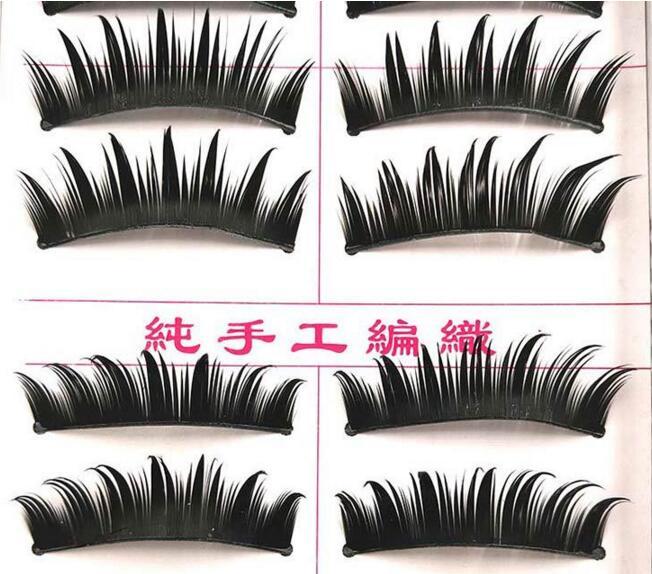 good Natural eye tail tip thick TPYE DIY false eyelashes as handmade lashes fake eyelashes artificial eyelashe for beauty makeup
