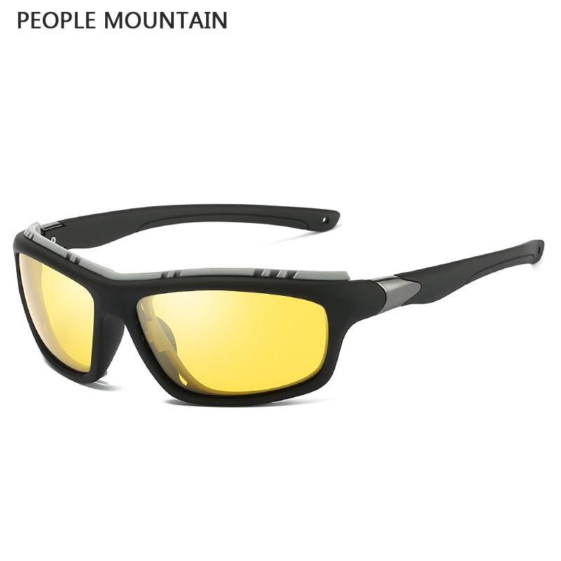 2018 Fashion Polarized Sunglasses Men Driving Goggles UV400 Lens For Fishing Golfing Running Eyewear Oculos De Sol 5327