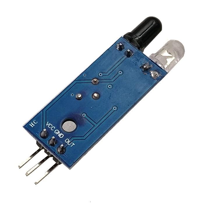 الذكية الالكترونيات الذكية سيارة روبوت عاكسة الكهروضوئي 3pin IR الأشعة تحت الحمراء تجنب عقبة الاستشعار وحدة ل اردوينو Diy كيت