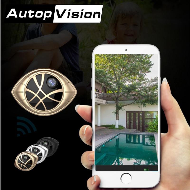 AI 338B 10PCS/lot mini black camera 720 WIFI Nice camera support phone view 2018 NEW mini camera car DVR home camera