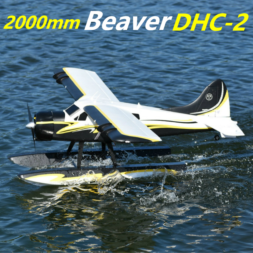 FMS 2000mm 2 0m 78 7 Beaver DH 2 Water Sea Plane 6CH with Flaps Retracts
