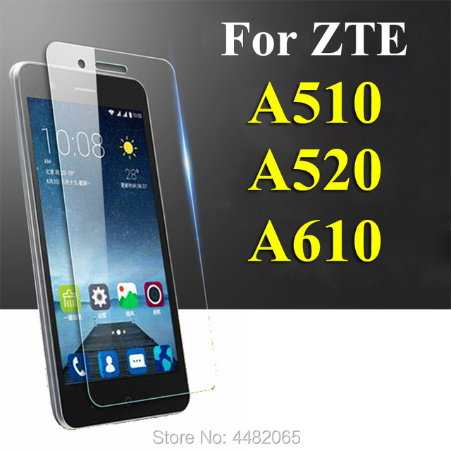 Protective Glass On For ZTE Blade A510 A520 A610 Tempered Glas Screen Protector 2.5D A 510 520 610 Tremp Film Protection 9h