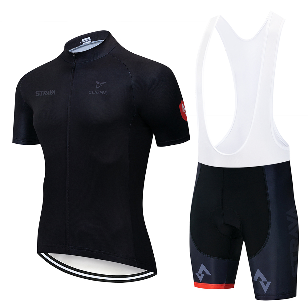 2018 TEAM <font><b>STRAVA</b></font> Cycling Clothing <font><b>Bike</b></font> jersey Ropa Ciclismo Mens Bicycle summer <font><b>shirts</b></font> pro Cycling Jerseys 9D pad <font><b>bike</b></font> shorts image