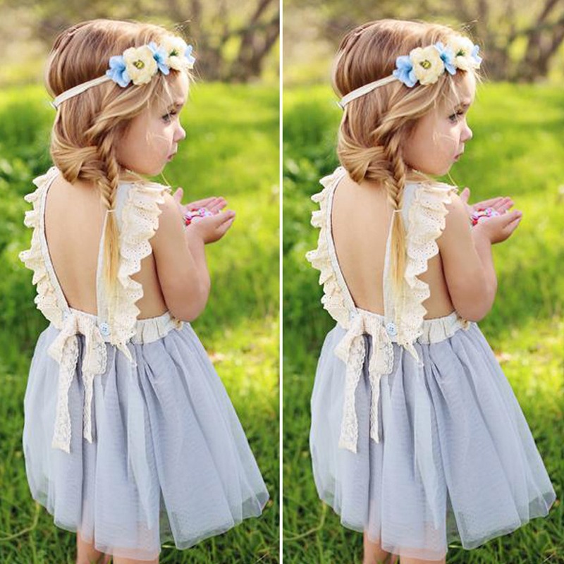 Humor Bear Brand 2018 Summer Girls Clothes Lace Strap Dress Princess Baby Girl Clothes Girls Dress Kids Dresses Of Girls humor bear baby girl clothes new spring and autumn long sleeve t shirt pink princess dress kids clothes girls clothing
