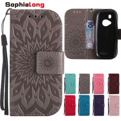 SophiaLong Leather Case sFor Fundas Nokia 3310 2017 case For coque Nokia N3310 Wallet Cover TA-1030 2.4 inch Stand Phone Cases