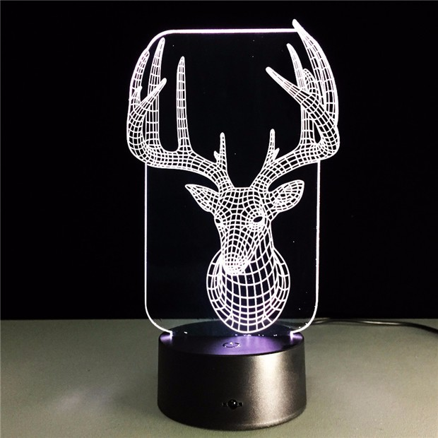 Deer Bedroom Lampe 7