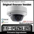 DS-2CD2742FWD-IS Versão Original Em Inglês HIKVISION IP câmera Varifocal POE P2P Onvif Câmera de Segurança Câmera de CCTV IPC H265 HIK