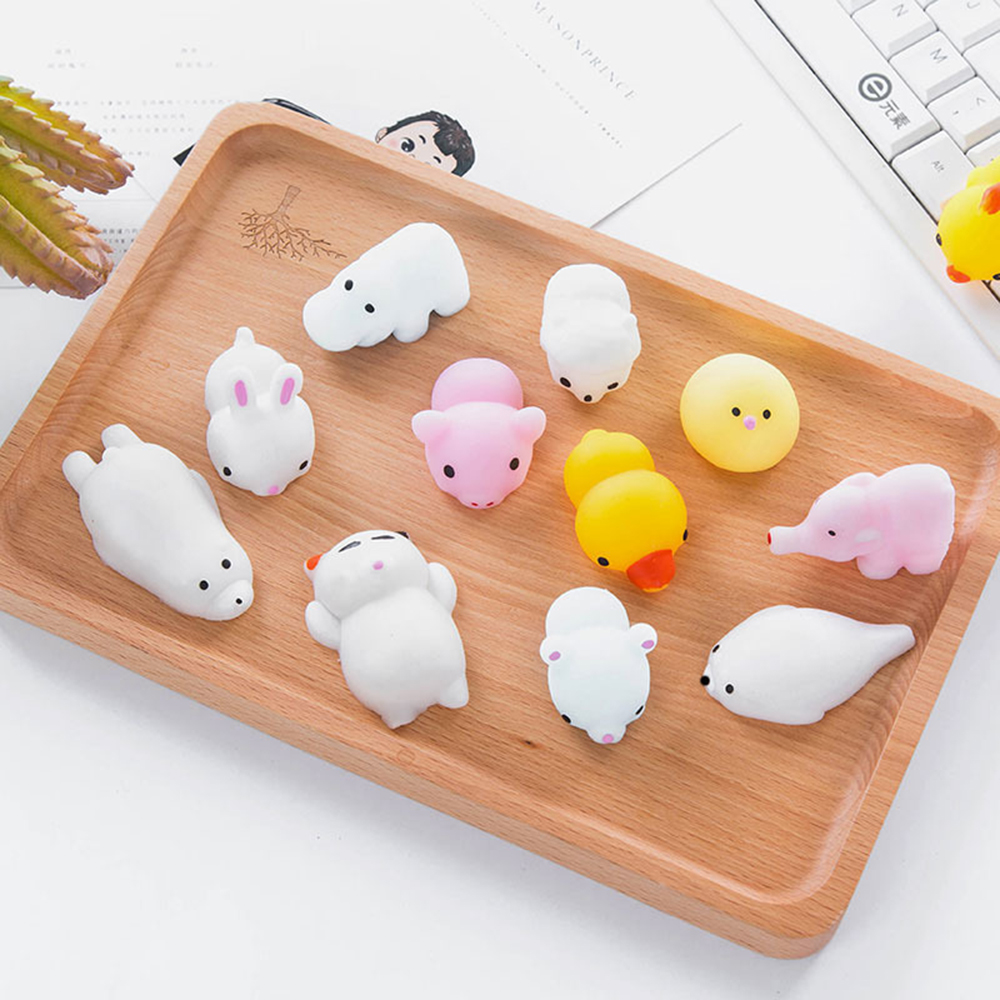 Squishy Soft Cute Rubber Cat Wipe Boot Ball Decompression Sticky Eliminate Pets Fun Anti-Stress Squishies Squeeze Friet Kit Toys