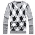 V-Collar New Autumn winter Brand clothing Men Long Sleeve Sweaters Pullovers Knitting Thick Warm Designer Casual Man Knitwear