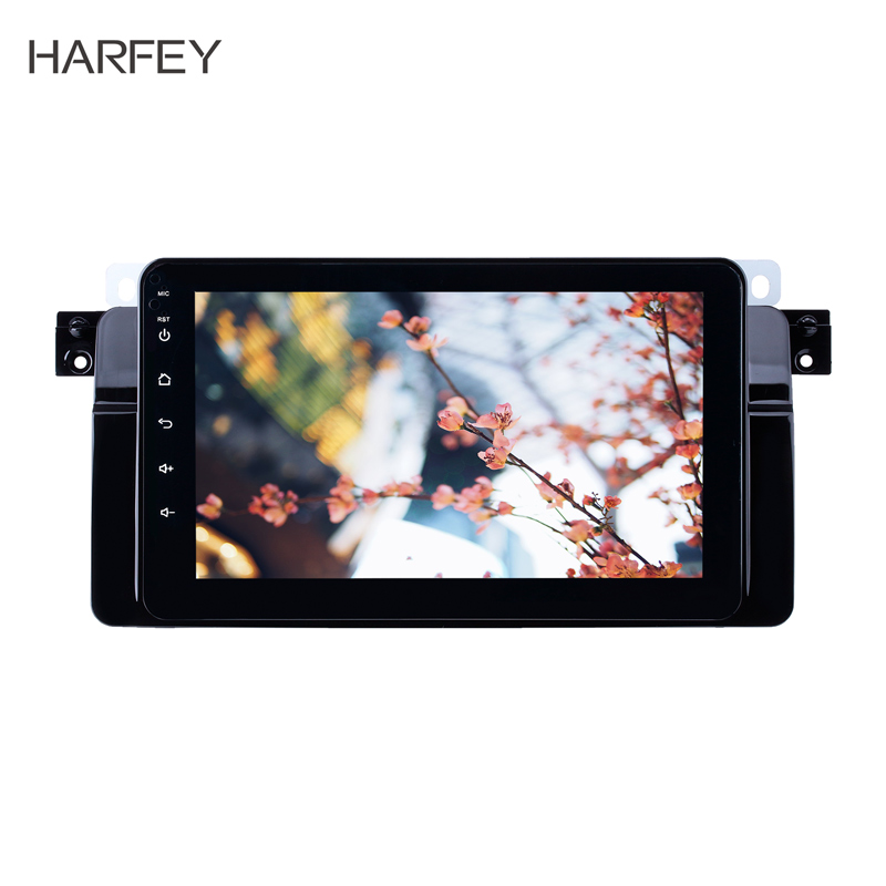 Harfey 8 inch Android 8.1 GPS Navigation Radio for BMW 3 Series E46 M3 1998-2006 Bluetooth HD Touchscreen Music support CarplayHarfey 8 inch Android 8.1 GPS Navigation Radio for BMW 3 Series E46 M3 1998-2006 Bluetooth HD Touchscreen Music support Carplay