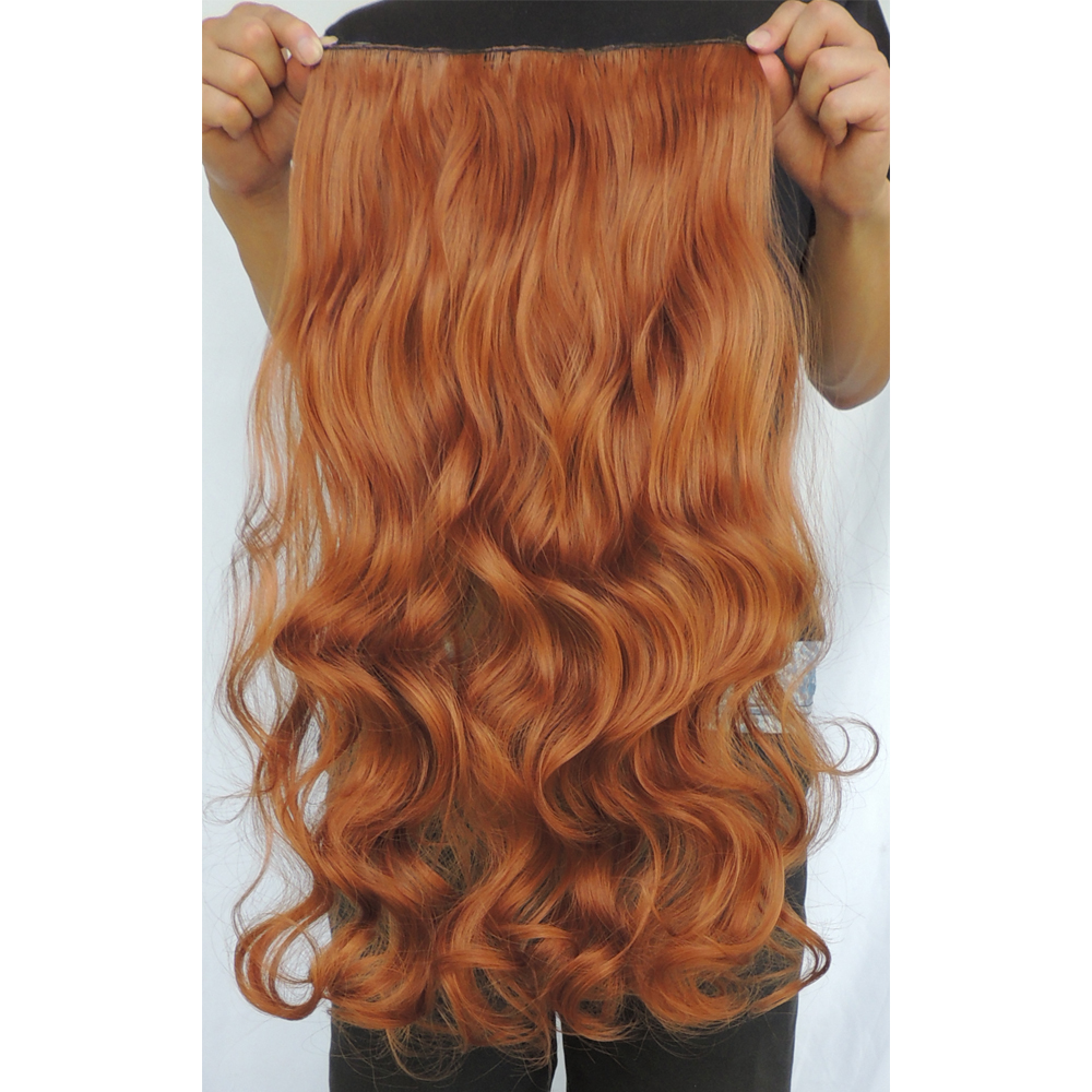 Copper red clip in hair extensions synthetic curly extension copper red clip in hair extensions synthetic curly extension pieces toyokalon cabelo extentions hairpieces color 30j 24inch 120g on aliexpress alibaba pmusecretfo Images