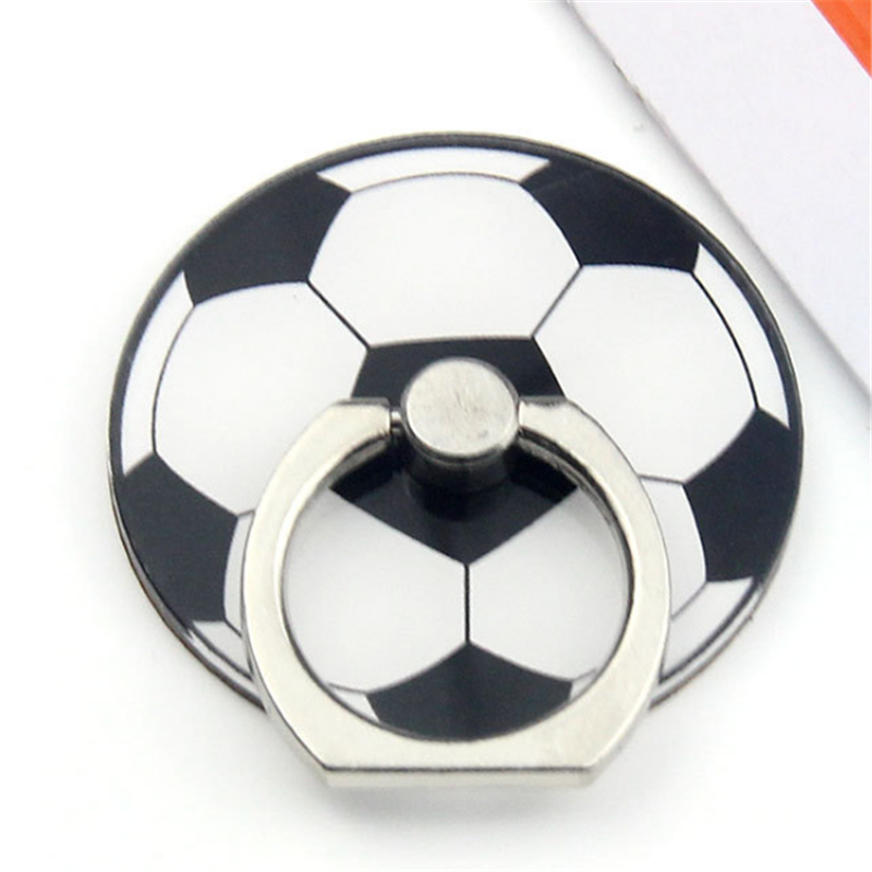 UVR Mobile Phone Sports Ball Stand Holder Football Soccer Finger Ring Smartphone Holder Stand For IPhone Xiaomi Huawei All Phone