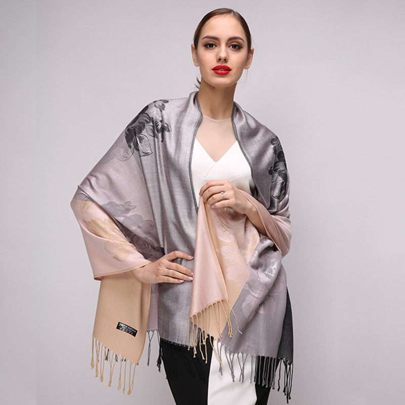 2018 High Quality Digital Printing Women Scarf Brand Shawls and Scarves Female Cotton Scarf Autumn Winter Warm Pashmina Wraps