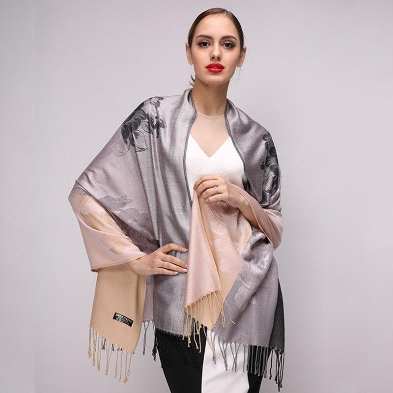 2018 High Quality Digital Printing Women   Scarf   Brand Shawls and   Scarves   Female Cotton   Scarf   Autumn Winter Warm Pashmina   Wraps
