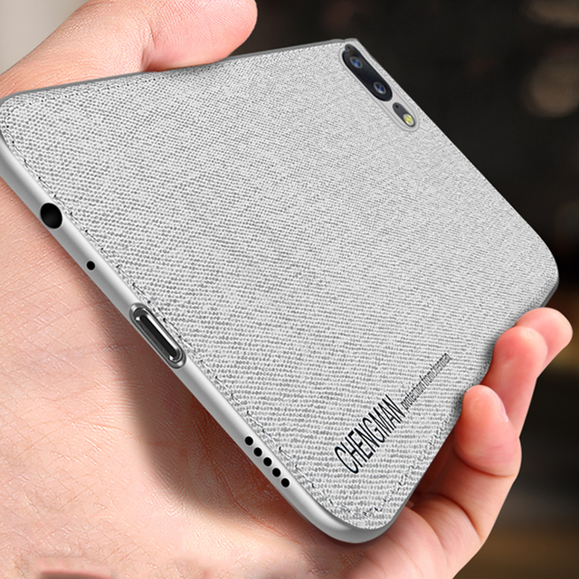 brand new ea17e 2d6ad US $2.98 35% OFF|Luxury Fabric Cloth Leather Case For Oneplus 5 5T Soft  Silicone TPU Shockproof Phone Covers Case For One Plus 6 1+6T Coque  Capas-in ...
