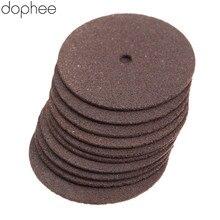 Dophee 36Pcs Dremel אביזרי 24mm מחוזק נותקו טחינת גלגלי דיסקים חותך עץ כלי חיתוך תרגיל רוטרי כלים