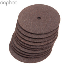 Dophee 36Pcs Dremel Zubehör 24mm Verstärkt Cut Off Schleifen Räder Discs Cutter Holz Schneiden Werkzeuge für Bohrer Dreh werkzeuge