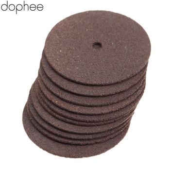 цена на dophee 36Pcs Dremel Accessories 24mm Reinforced Cut Off Grinding Wheels Discs Cutter Wood Cutting Tools for Drill Rotary Tools