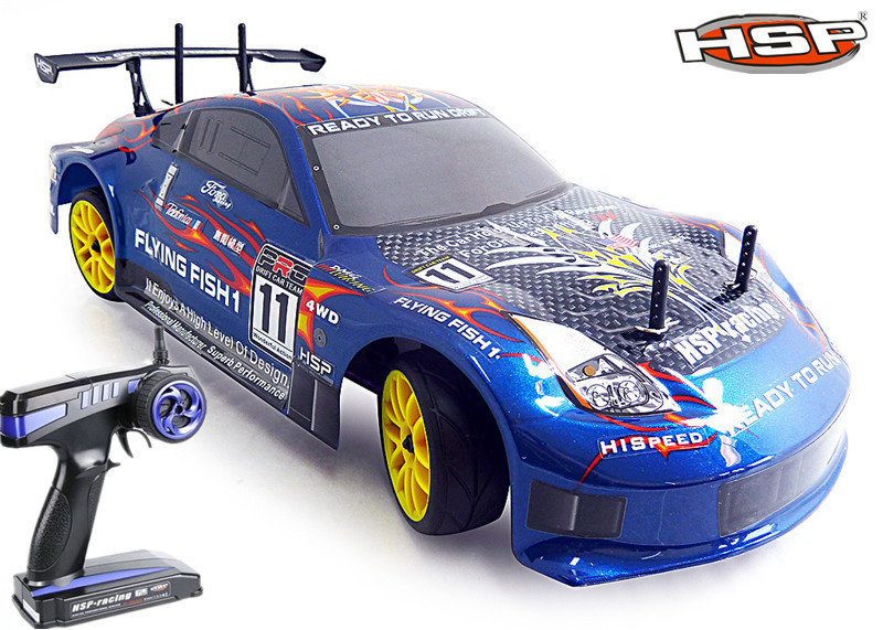 HSP 94122 1/10 Scale 4wd rc Nitro car Gas Off Road Pivot Ball Suspension automodelismo nitro rc P1 image