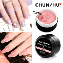 Newest Semi Transparent Nail Art Jelly Color UV Gel Nails 15ml Camouflage Solid French The Fast Construction Polygel