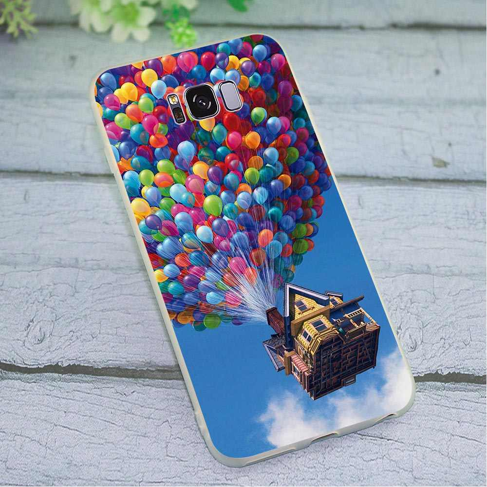 Cases Back Hot Air Balloon Sunset Phone Cover for Galaxy S10 Plus Case Note 8 9 M10 M20 M30 Galaxy S6 S7 Edge S8 S9 Plus S10e