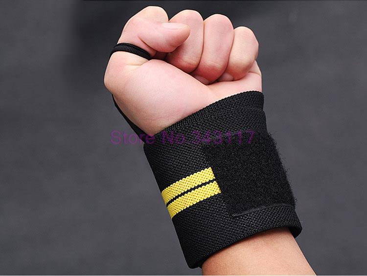 1 Pair Sports Weight Lifting Wrist Support Fitness Training Gloves