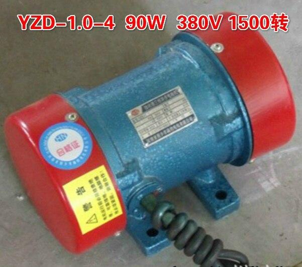 цена на Small vibration motor miniature vibration motor 90W vibration motor YZD-1.0-4 three-phase 380V eccentric