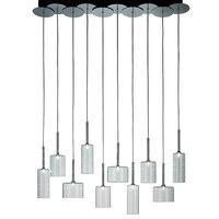 Spillray SP3 3/6/10/12 Suspension Light By Manuel Vivian by AXO Light dining room restaurant Glass pendant lamp lighting