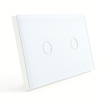 Bseed 240v Touch Light Switch 2 Gang 2 Way Touch Sensor