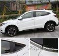Alta calidad en acero inoxidable 12 unids completo marco de ventana Trim cubierta para Honda Vezel HR-V 2014 2015