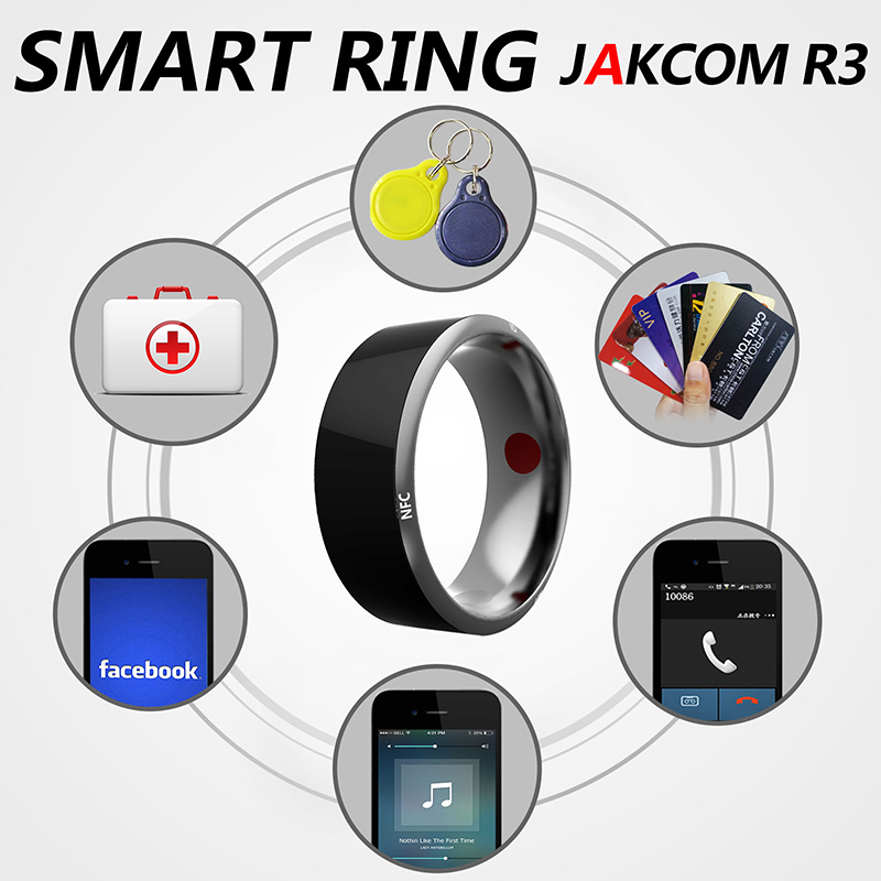In stock Jakcom R3 Waterproof Smart Ring App Enabled Wearable Technology Magic Ring For iOS