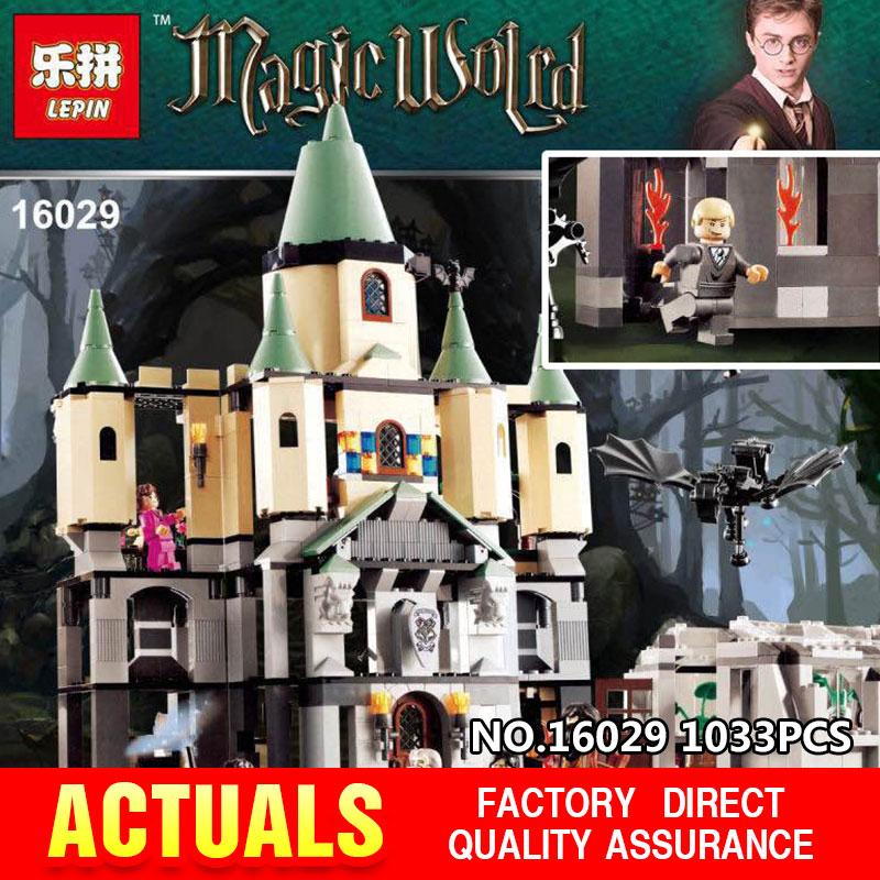 ФОТО Lepin 16029 1033Pcs Movie Series The magic hogwort castle set Genuine Educational Building Blocks Bricks Toys Model Gift 5378