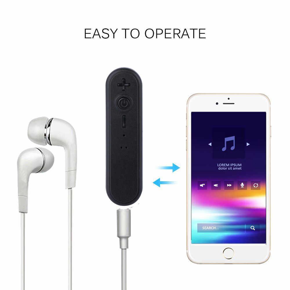 スマートワイヤレス BT4.1 受信機ステレオ 3.5 ミリメートルジャックオーディオ音楽アダプタテレビ電話 PC カーキットアダプタ Bluetooth ED01