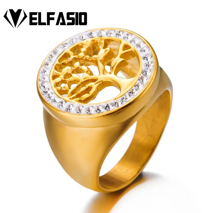 LADIES FASHION GOLD SKULL WITH CIGAR RING