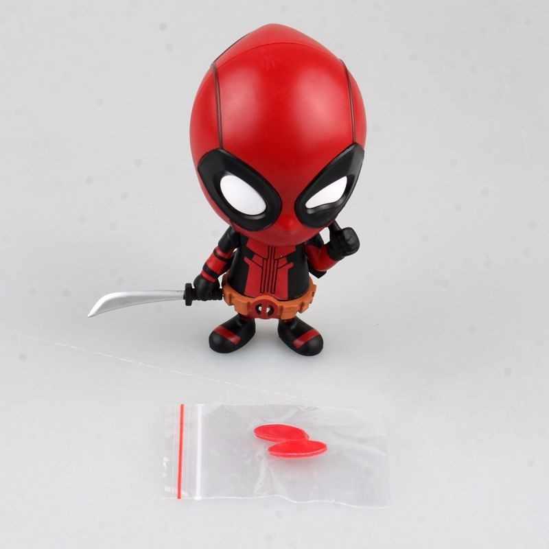 10 cm Exibição Anime Figura Toy bobblehead Deadpool Deadpool Cosplay Ação PVC Figuras Brinquedos Boneca de Presente de Aniversário Das Crianças Jouet