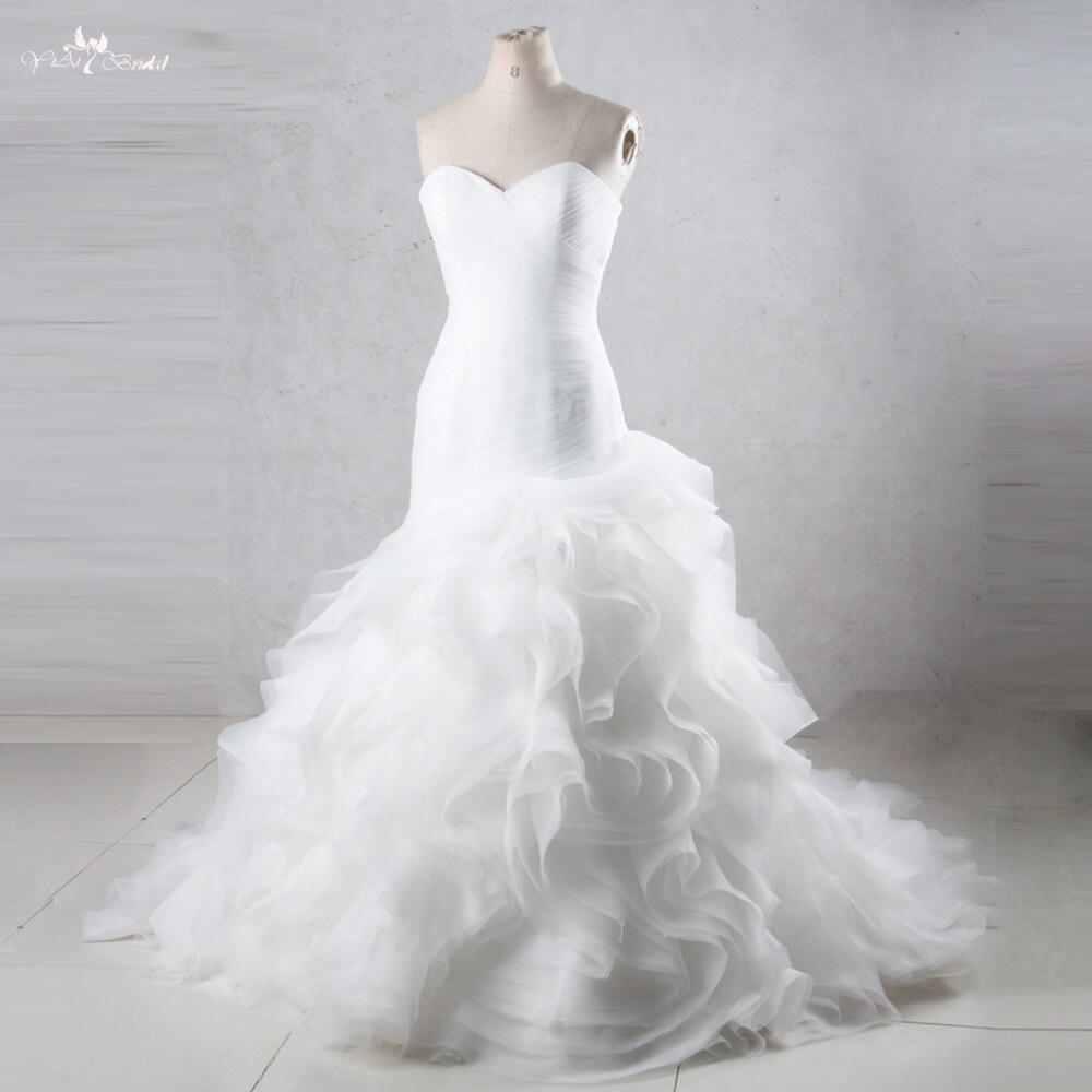 Tw0195 Mermaid Princess Wedding Dresses With Ruffled Skirt Cheap Made In Chinain From Weddings Events On Aliexpress: Black Ruffled Wedding Dresses At Websimilar.org