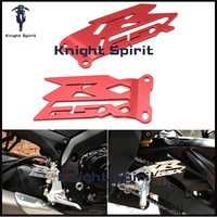For SUZUKI GSX R1000 GSXR 1000 2003 2014 K3 K5 K7 K9 Motorcycle Accessories CNC Aluminum Foot Peg Heel Plates Guard Protector