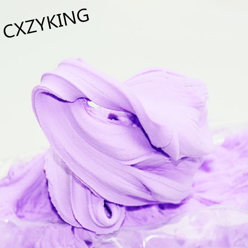 CXZYKING Slime 100g 24 Colors Play Dough Slime Nontoxic Puzzle Slime Toys Malleable Fimo Polymer Clay Playdough Childrens Toys