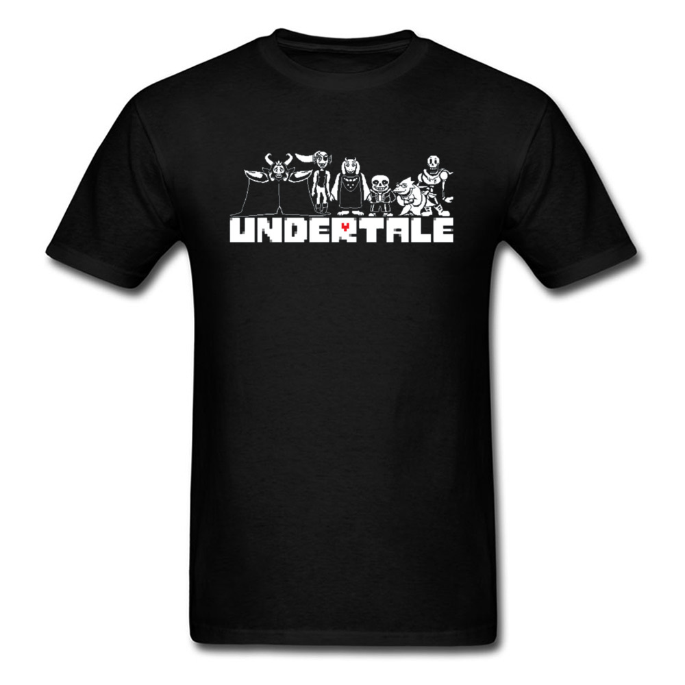 Undertale Sans T Shirt Punisher Game Tshirts 3D Print Undertale DnD Funny T Shirts For Men 100 Cotton Clothes Spring Tees in T Shirts from Men 39 s Clothing