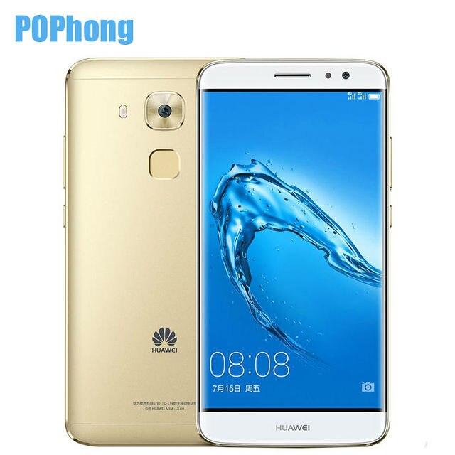 Huawei g9 plus 5.5 дюймов 1920*1080 lte смартфон 3 ГБ ram snapdragon 625 msm8953 окта основные android 8.0mp + 16.0mp