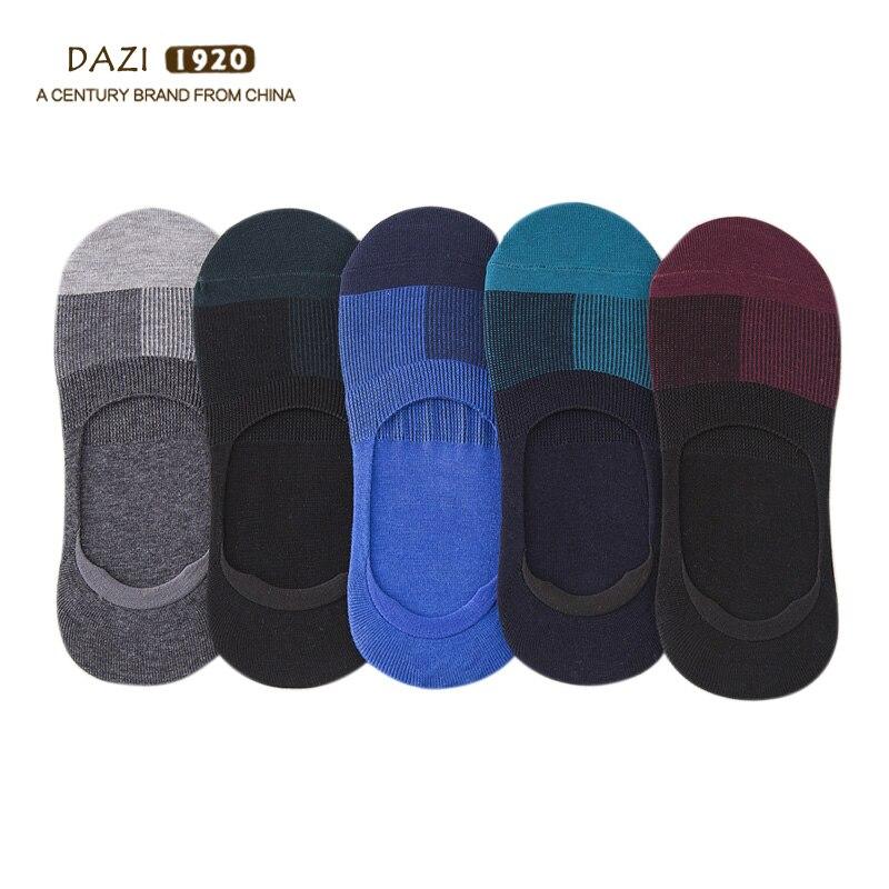 5pairs/Lot Men Boat Socks Cool Sheer Calcetines Tobilleros Harajuku No Show Man Cotton Socks Invisible