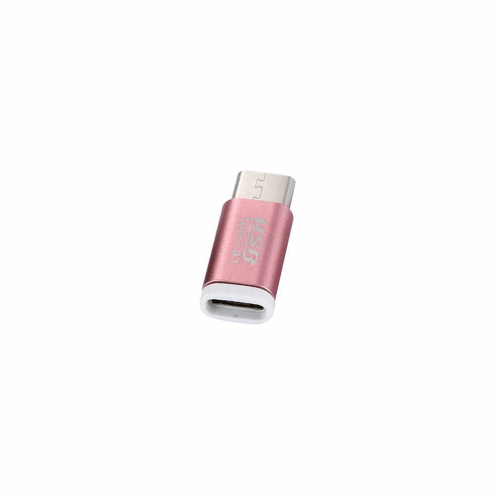 2019 Dữ Liệu Kỹ Thuật Số Micro USB Nữ Để Loại-C USB 3.1 Nam Dữ Liệu Kết Nối Bộ Chuyển Đổi Cho Oneplus 2 Máy Tính Xách Tay PC USB Loại C Cổng