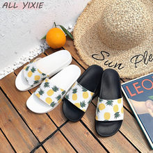 ALL YIXIE 2019 Women Slippers Fashion Summer lovely Ladies Casual Slip On Fruit jelly Beach Flip Flops Slides Indoor women shoes
